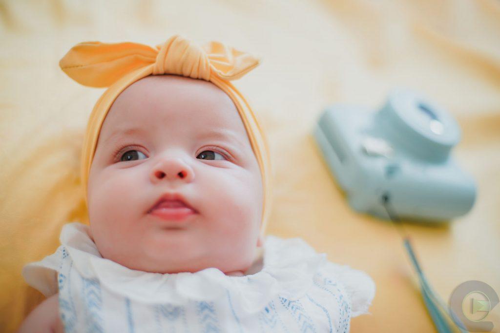 5 Aylık Bebek Fotoğrafı