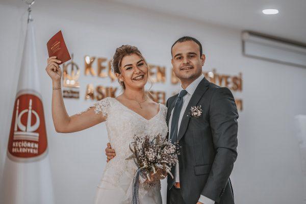 Ankara Nikah Çekimi, Keçiören Nikah Salonu